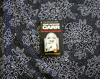 The House At Satan's Elbow By John Dickson Carr Collectible Paperback Mystery from 1976. Satanic Occult Murder Mystery