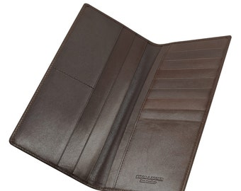 Leather Jacket Wallet 10 card