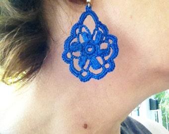 PDF Tutorial Crochet Pattern...Dangle Earrings -15