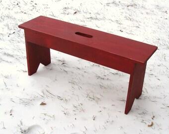 Rustic Bench, Entryway Bench, Mudroom Bench, Garden Bench, Wood Bench, Cottage Farmhouse Beach Decor Custom