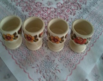 Four Egg Cups