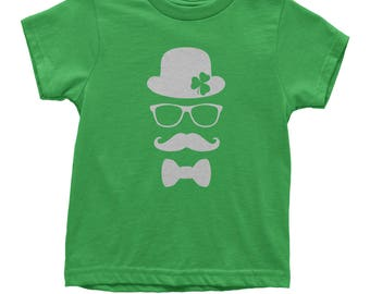 Derby, Mustache and Shamrock Youth T-shirt