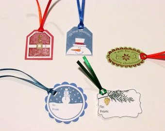 Christmas Gift Tags, Pack of 25