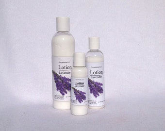 Luxury Lavender Lotion - Rich, Creamy, Moisturizing, Alcohol Free, All-Natural, Skin Loving Nutrients, Won't leave you Greasy! SPF 20