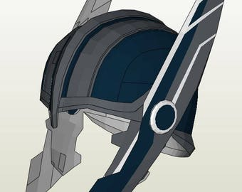 Thor Ragnarok Helmet Pepakura Foam File from HyprozStudio ...