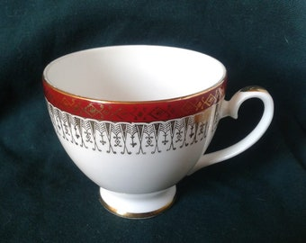 Vintage Royal Grafton Majestic Pattern Hand Finished Fine Bone China Teacup
