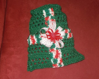 Dog sweater - I GOT WRAPPED For Christmas - Many colors available - 2 to 20 lb dogs