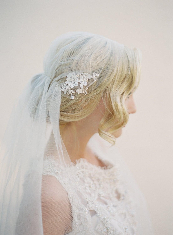Juliet Wedding Veil Boho Wedding Veil Boho Bridal Veil Lace