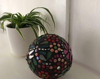 Mosaic Gazing Meditation Dragonfly Decorative Ball