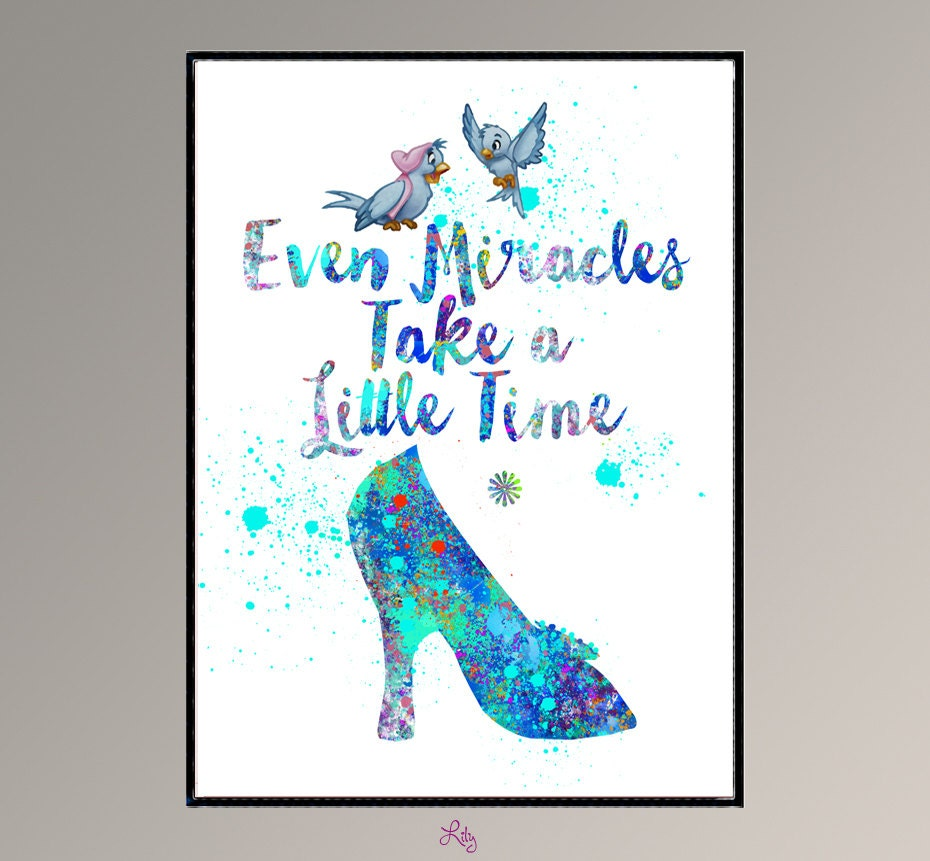 Cinderella Quotes Custom Cinderella 2015 Even Miracles Take A Little Time