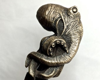 Kraken Cane, Limited Edition Bronze