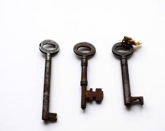Old Keys, Vintage Keys, Iron Keys