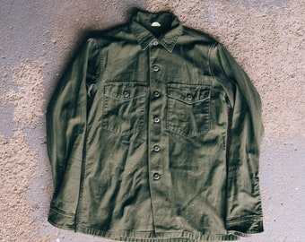 1966 US ARMY OG107 Fatigue Shirt