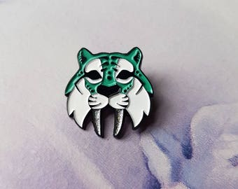 Saber-tooth Tiger - Soft enamel Pin