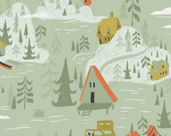 Dear Stella - Camp Wander Collection - Cabin Town in Multi
