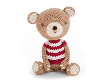 Amigurumi pattern, crochet bear pattern, amigurumi bear pattern PDF