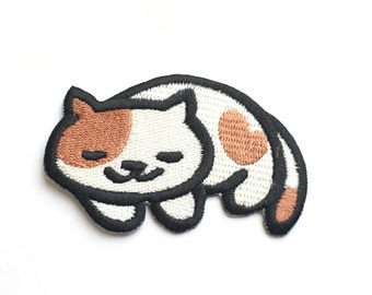 Peaches Embroidered Patch *Neko Atsume*