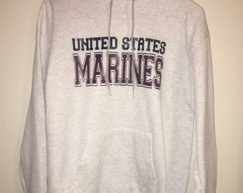 Marines hoodie! Made for any military branch!!