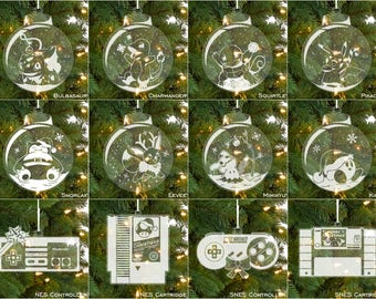 ALL DESIGNS - Nerdy Christmas Ornaments (Updated!)