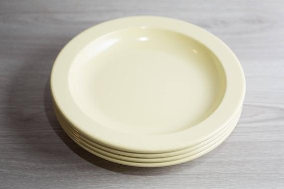 Like this item? & Vintage Mistral Melamine Plates 4 piece Set of Soft Yellow