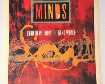 Simple Minds Vintage Concert Poster Print Reproduction