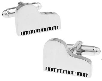 Piano Music Musician Cufflinks
