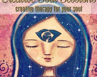 The Creative Soul Sessions, Meditations, Awakened Meditations, Artists Community, Online community, Art lessons, Art & Meditation Courses