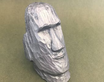 Easter Island mo'ai hood ornament