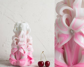 Best bridal shower gifts, Carved candle, Wedding decoration, Decorative candles, Romantic candle, Candle shop, Bridal shower gifts ideas