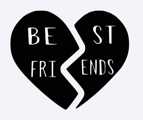 best friend heart - photo #39