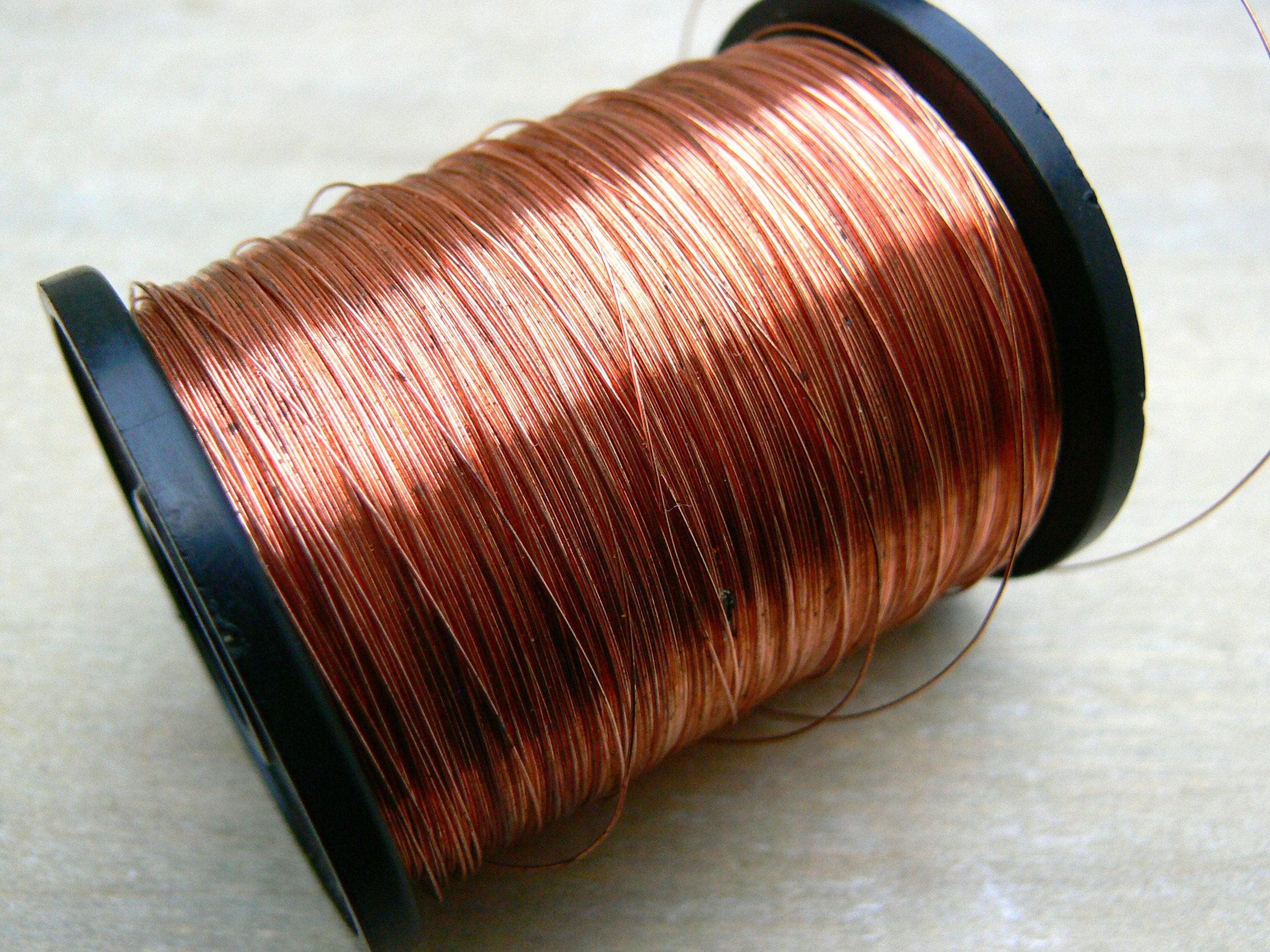 0315 mm rund Kupferdraht 28g Kupfer Draht nackten