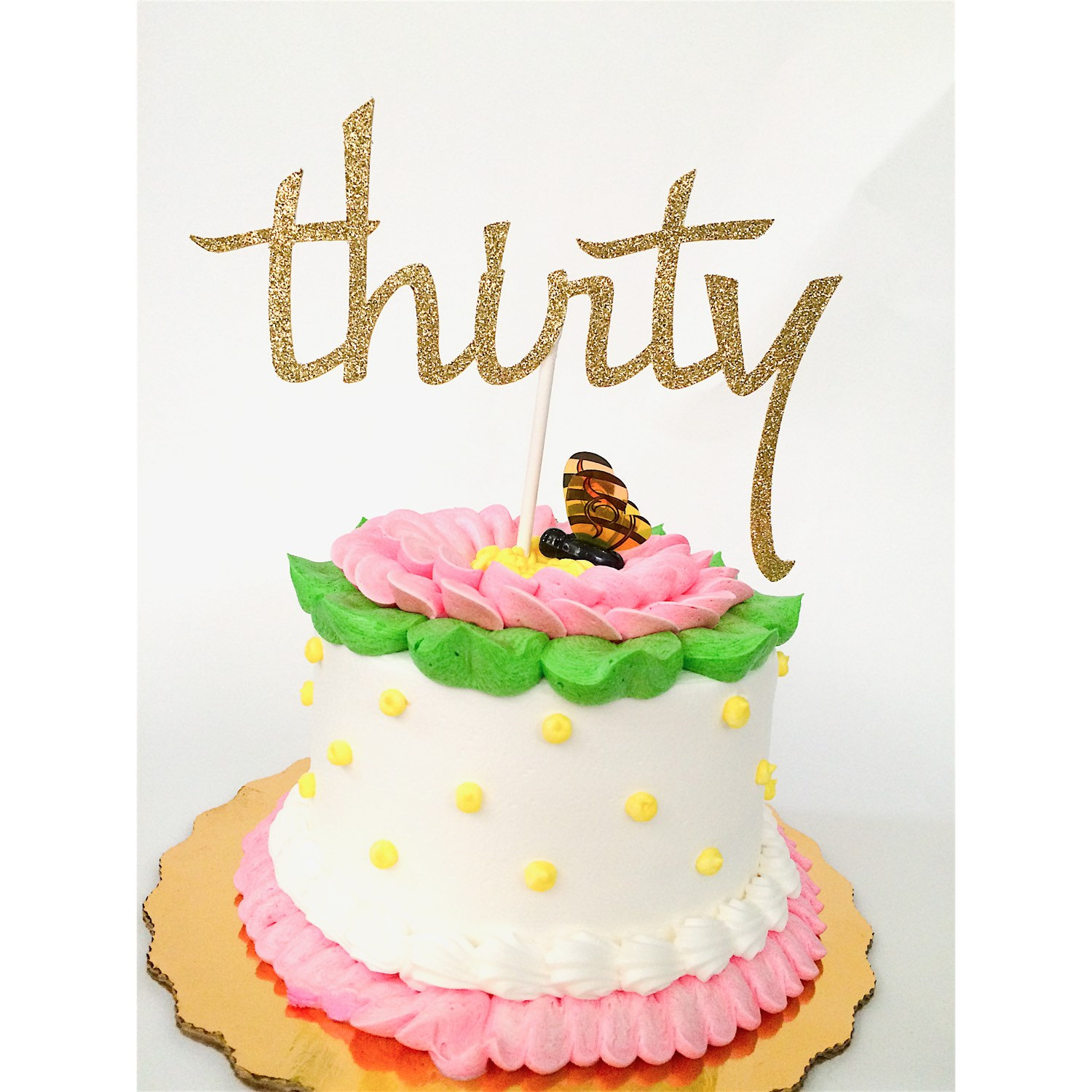 30th Birthday Cake Topper Silver 30th Birthday Cake Toppers Dirty