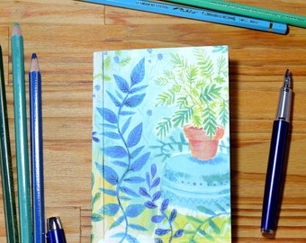Small illustrated notebook - Plants