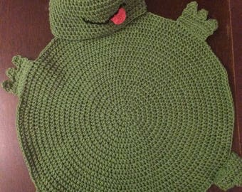 Froggy Hooded Blanket