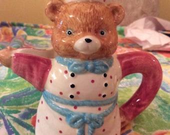 Children's Battat teddy bear teapot