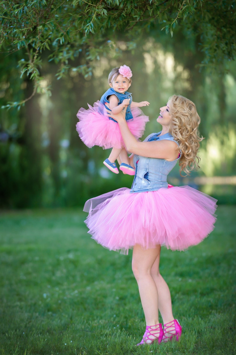 Mommy and Me Matching Tutu Set Any Color Adult Tutu Tutus