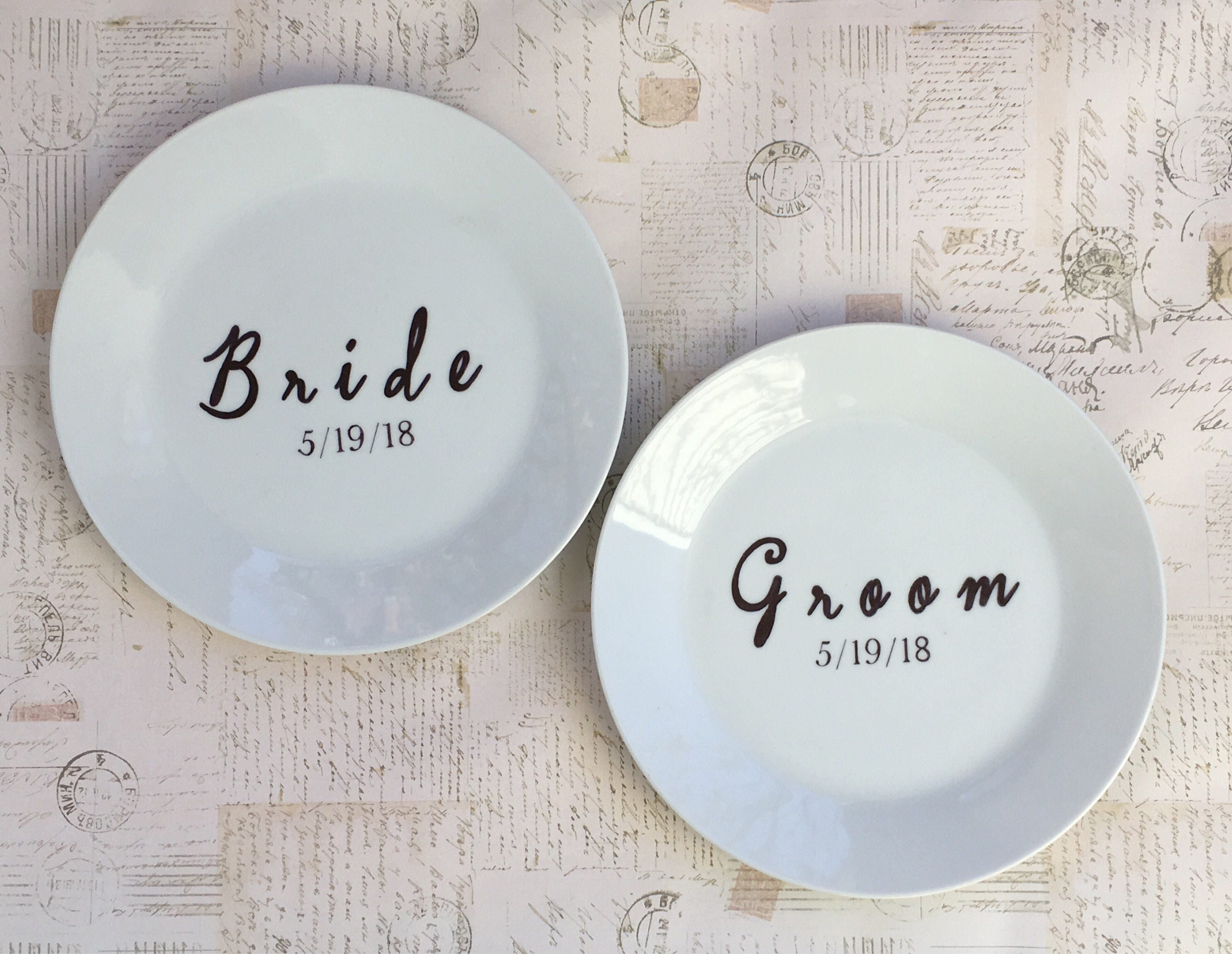 Request a custom order and have something made just for you. & Wedding Dinner Plates Dinner Plates Custom Dinner Plates