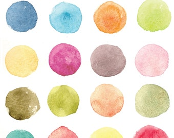 Watercolor Palette Photo Backdrop