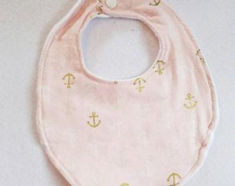 Anchor infant bib