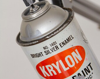 Tall Krylon Spray Paint Swivel Arm Architect  Lamp