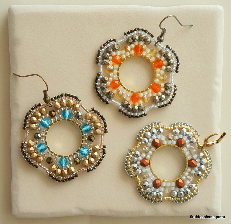 watch earrings brick youtube stitch hoop