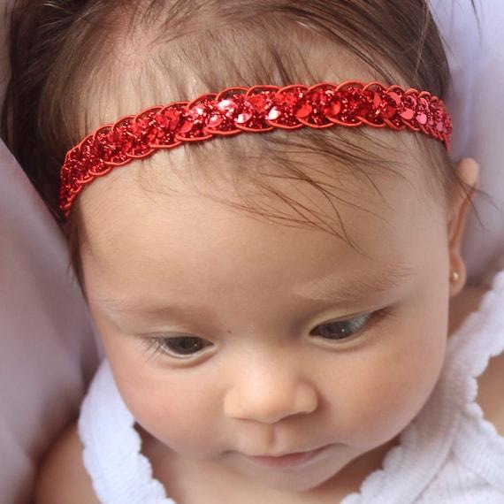 Headband for Baby, Baby Girl Headband, Red Headband, Baby Headband, Headband Red, Red Headband Baby, Infant Headbands, Newborn Headband