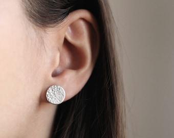 Everyday circle earrings, Stud earrings, Small post earrings, Women studs, Men Studs, Simple earrings, Dainty earrings, Geometric earrings