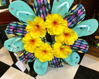 SUMMER SURF - Funkiest Flip Flop Wreaths