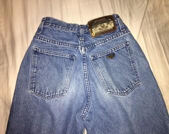 Vintage Armani High Waisted Mom Jeans
