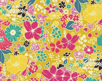 Here Comes the Fun,  Fabrics Scent Abloom,Cotton Quilting Fabric