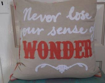 Cheerful Statement Pillow!