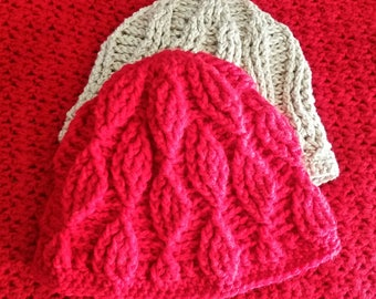 Crochet Pattern-Reversible Hat - Instant PDF download