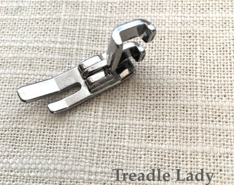 Straight Stitch Sewing Machine Foot Attachment Side Mounting Low Shank