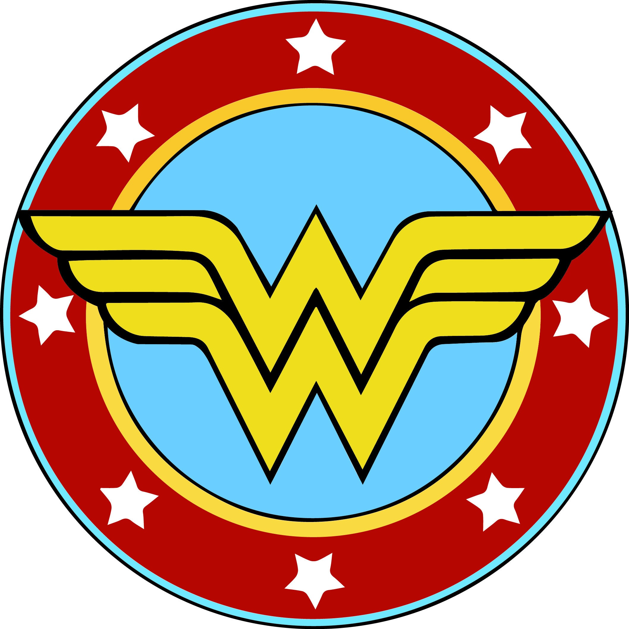 wonder woman svg wonder woman logo svg wonder woman clipart rh etsystudio com wonder woman clip art in black and white wonder woman clip art pictures